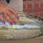 Mrežom obmotala vazu: Ovaj detalj poželjećete odmah u svom domu! (VIDEO)