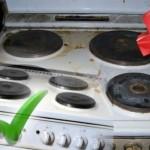 RECITE ZBOGOM tvrdokornim mrljama: Super jednostavan trik za ČIŠĆENJE ŠPORETA!