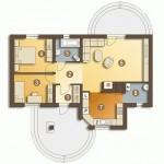 Kuća za tročlanu porodicu11
