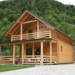 6 puta bolji izolator od cigle, a 15 puta od betona: Kako se prave montažne kuće od drveta