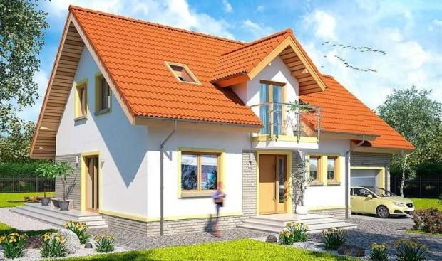 Divna kuća sa potkrovljem i garažom (1)