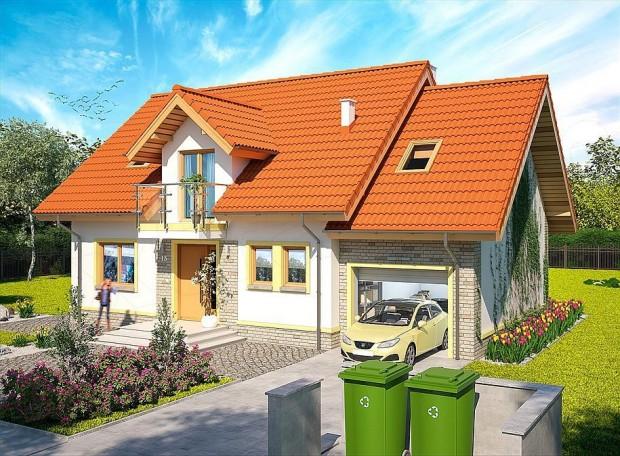 Divna kuća sa potkrovljem i garažom (2)