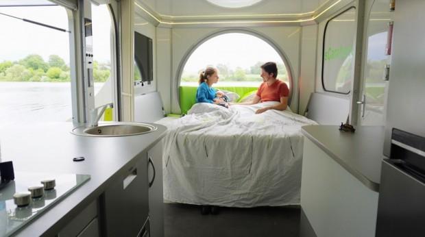 Rotirajući kamper koji se transformiše u mali stan (11)