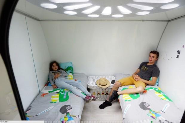 Rotirajući kamper koji se transformiše u mali stan (17)