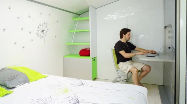 Rotirajući kamper koji se transformiše u mali stan (19)