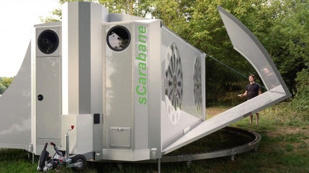 Rotirajući kamper koji se transformiše u mali stan (2)
