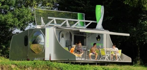 Rotirajuci kamper koji se transformiše u mali stan 665