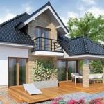 Lijepa kuća sa potkrovljem, 4 sobe i garažom (DETALJAN PLAN)