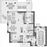 Lijepa kuća sa potkrovljem (5)