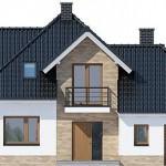 Lijepa kuća sa potkrovljem (9)