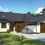 Mala kuća sa 3 spavaće sobe i garažom (DETALJAN PLAN)
