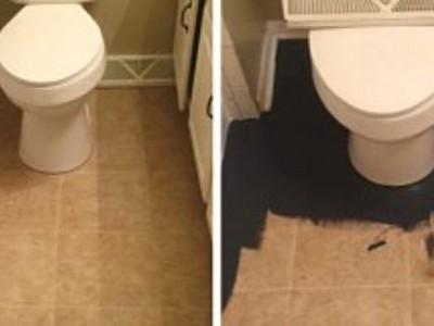 Napravila je čudo u kupatilu za manje od 25 eura! Rezultat će vas oduševiti!