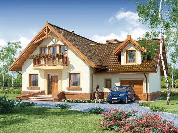 Krasna kuća sa potkrovljem (2)