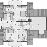 Krasna kuća sa potkrovljem (6)