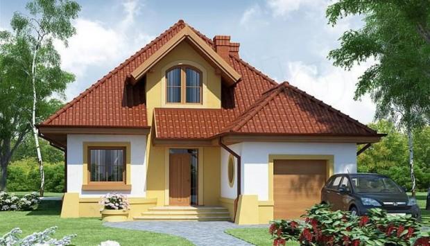 Lijepa kuća sa potkrovljem (1)