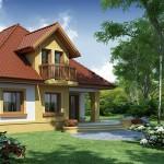 Lijepa kuća sa potkrovljem (4)