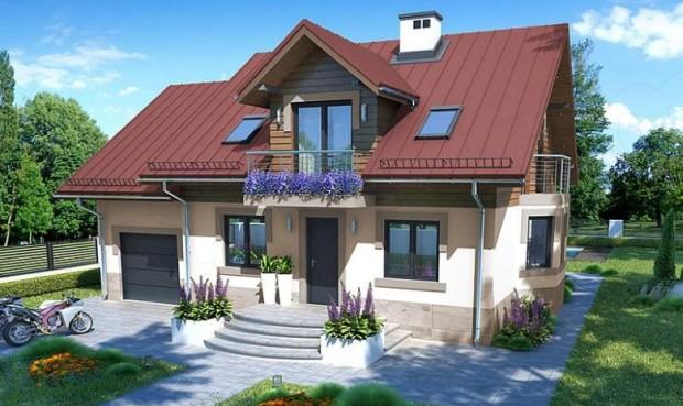 Prelijepa kuća sa potkrovljem (1)