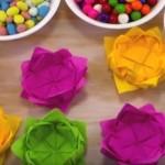Najefektnija praznična dekoracija: Korpice od salveta gotove za 2 minuta! (VIDEO)