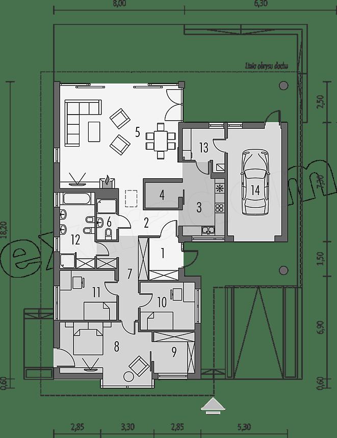Divna trosobna kuća (1)