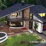 KUĆA IZ SNOVA: Predivna raskošna kuća sa 3 spavaće sobe i garažom (DETALJAN PLAN)