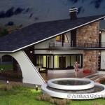Predivna raskošna kuća (3)