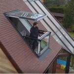 Prozor koji se u dva poteza pretvara u balkon: Dobrodošli u budućnost! (VIDEO)