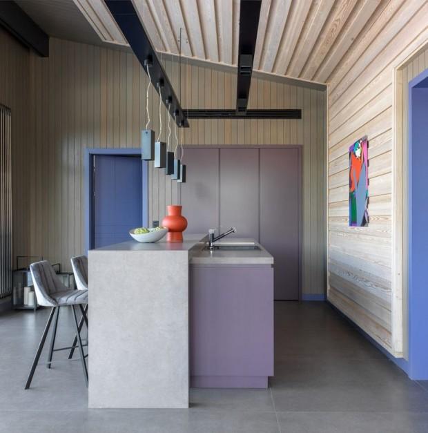 Kuća u skandinavskom stilu. 1