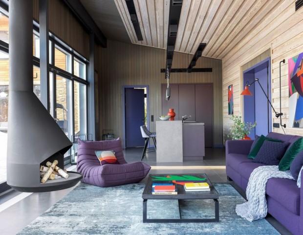 Kuća u skandinavskom stilu. 5
