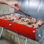 Kako da napravite roštilj od starog bureta za ulje? Pravi se veoma lako, idealno za dvorište