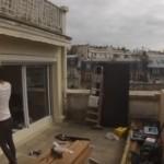 Staru terasu pretvorio u san snova: U roku od 10 dana napravio raj na krovu zgrade! (VIDEO)